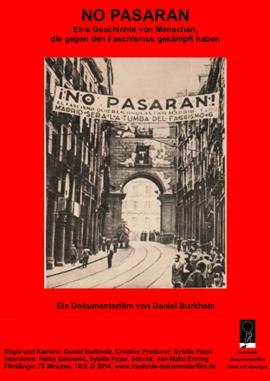 No Pasaran – deutsches Filmplakat – Film-Poster Kino-Plakat deutsch