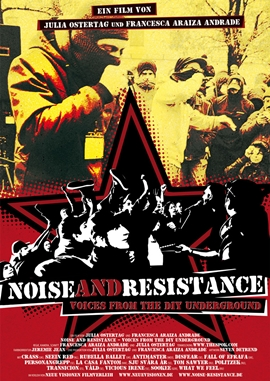 Noise and Resistance – deutsches Filmplakat – Film-Poster Kino-Plakat deutsch