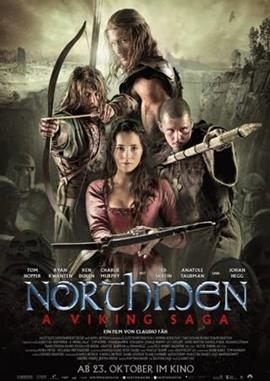 Northmen – A Viking Saga – deutsches Filmplakat – Film-Poster Kino-Plakat deutsch