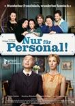 Nur für Personal! – deutsches Filmplakat – Film-Poster Kino-Plakat deutsch