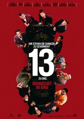 Ocean's 13 – deutsches Filmplakat – Film-Poster Kino-Plakat deutsch