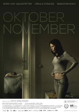 Oktober November – deutsches Filmplakat – Film-Poster Kino-Plakat deutsch