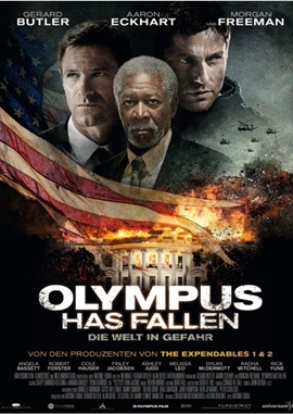Olympus Has Fallen – Die Welt in Gefahr – deutsches Filmplakat – Film-Poster Kino-Plakat deutsch