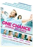 One Chance - Einmal im Leben - deutsches Filmplakat - Film-Poster Kino-Plakat deutsch