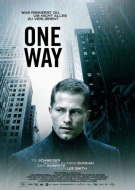 One Way – deutsches Filmplakat – Film-Poster Kino-Plakat deutsch