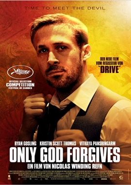 Only God Forgives – deutsches Filmplakat – Film-Poster Kino-Plakat deutsch