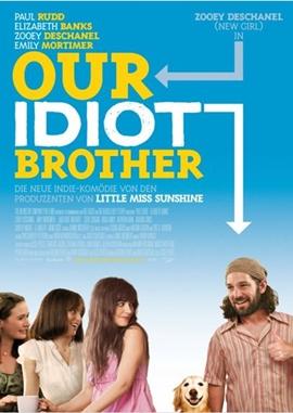 Our Idiot Brother – deutsches Filmplakat – Film-Poster Kino-Plakat deutsch