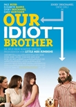 Our Idiot Brother – deutsches Filmplakat – Film-Poster Kino-Plakat deutsch