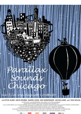 Parallax Sounds Chicago – deutsches Filmplakat – Film-Poster Kino-Plakat deutsch