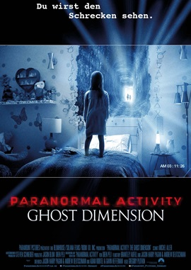 Paranormal Activity 5 – deutsches Filmplakat – Film-Poster Kino-Plakat deutsch