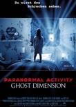 Paranormal Activity 5 - deutsches Filmplakat - Film-Poster Kino-Plakat deutsch