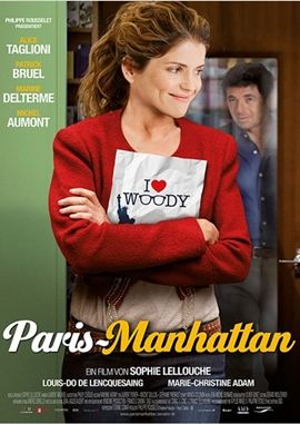 Paris Manhattan – deutsches Filmplakat – Film-Poster Kino-Plakat deutsch