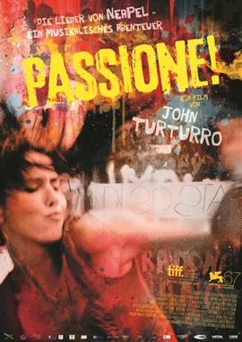 Passione! – deutsches Filmplakat – Film-Poster Kino-Plakat deutsch