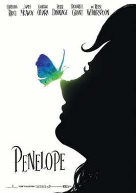 Penelope – Christina Ricci, Reese Witherspoon, James McAvoy, Catherine O'Hara, Peter Dinklage, Richard E. Grant – Marc Palansky – Filme, Kino, DVDs Kinofilm Filmdrama – Charts & Bestenlisten