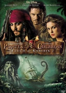 Pirates of the Caribbean – Fluch der Karibik 2 – deutsches Filmplakat – Film-Poster Kino-Plakat deutsch