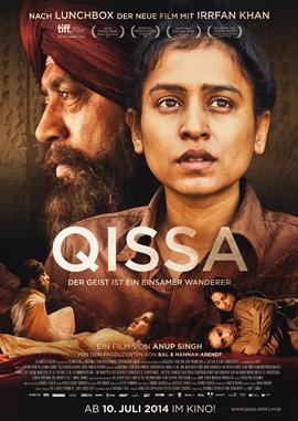 Qissa – Der Geist ist ein einsamer Wanderer – deutsches Filmplakat – Film-Poster Kino-Plakat deutsch
