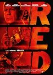 R.E.D. – Älter, Härter, Besser – deutsches Filmplakat – Film-Poster Kino-Plakat deutsch