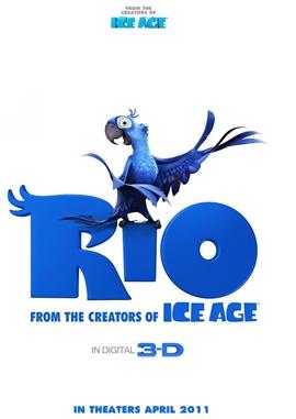 Rio – deutsches Filmplakat – Film-Poster Kino-Plakat deutsch