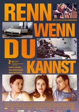 Renn, wenn du kannst – deutsches Filmplakat – Film-Poster Kino-Plakat deutsch