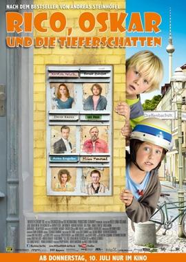 Rico, Oskar und die Tieferschatten – deutsches Filmplakat – Film-Poster Kino-Plakat deutsch