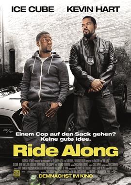 Ride Along – deutsches Filmplakat – Film-Poster Kino-Plakat deutsch