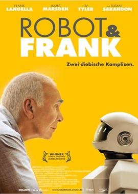 Robot & Frank – deutsches Filmplakat – Film-Poster Kino-Plakat deutsch