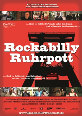 Rockabilly Ruhrpott – deutsches Filmplakat – Film-Poster Kino-Plakat deutsch