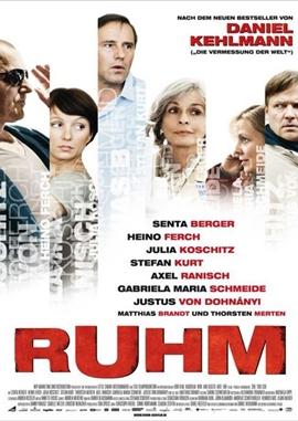 Ruhm – deutsches Filmplakat – Film-Poster Kino-Plakat deutsch