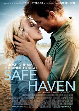 Safe Haven – Wie Ein Licht In Der Nacht – deutsches Filmplakat – Film-Poster Kino-Plakat deutsch