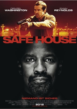 Safe House – deutsches Filmplakat – Film-Poster Kino-Plakat deutsch