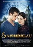 Saphirblau - deutsches Filmplakat - Film-Poster Kino-Plakat deutsch