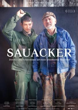 Sauacker – deutsches Filmplakat – Film-Poster Kino-Plakat deutsch