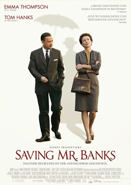 Saving Mr. Banks – deutsches Filmplakat – Film-Poster Kino-Plakat deutsch