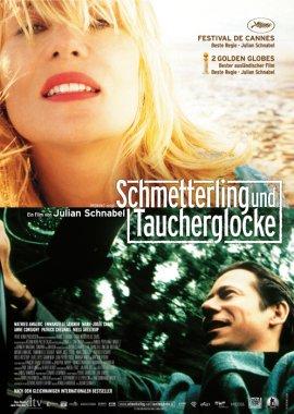 Schmetterling und Taucherglocke – deutsches Filmplakat – Film-Poster Kino-Plakat deutsch