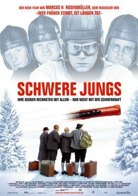 Schwere Jungs – deutsches Filmplakat – Film-Poster Kino-Plakat deutsch