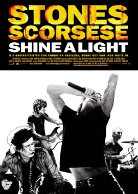 Shine A Light – deutsches Filmplakat – Film-Poster Kino-Plakat deutsch