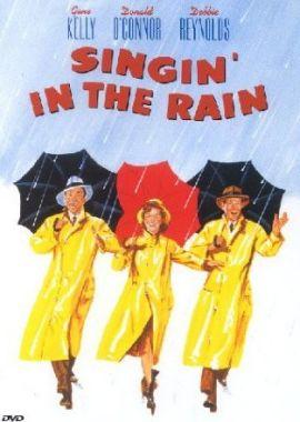 Singin' in the Rain – Du sollst mein Glücksstern sein – deutsches Filmplakat – Film-Poster Kino-Plakat deutsch
