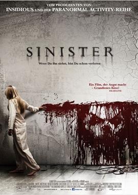 Sinister – deutsches Filmplakat – Film-Poster Kino-Plakat deutsch
