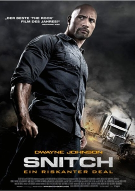 Snitch – Ein riskanter Deal – deutsches Filmplakat – Film-Poster Kino-Plakat deutsch