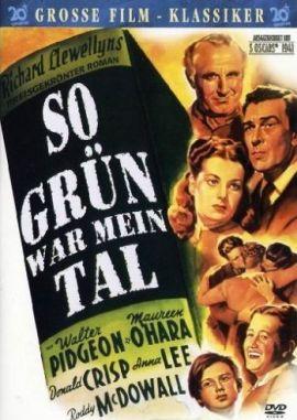 So grün war mein Tal – deutsches Filmplakat – Film-Poster Kino-Plakat deutsch