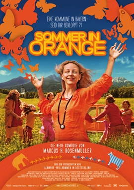 Sommer in Orange – deutsches Filmplakat – Film-Poster Kino-Plakat deutsch