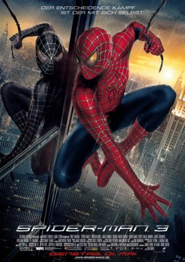Spider-Man 3 – Tobey Maguire, Kirsten Dunst, James Franco, Thomas Haden Church, Topher Grace, James Cromwell – Sam Raimi – Bryce Dallas Howard	, J.K. Simmons – Filme, Kino, DVDs Kinofilm Action-Fantasy – Charts & Bestenlisten