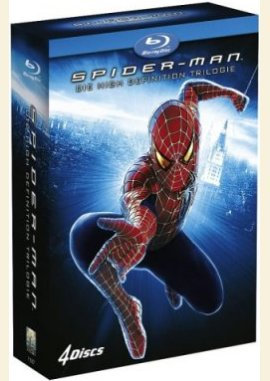 Spider-Man Trilogie – Tobey Maguire, Kirsten Dunst, Willem Dafoe, James Franco, Cliff Robertson, Alfred Molina – Sam Raimi – Thomas Haden Church, Vanessa Ferlito, Topher Grace, Rosemary Harris, J.K. Simmons – Filme, Kino, DVDs DVD-Box Action-Fantasy – Charts & Bestenlisten