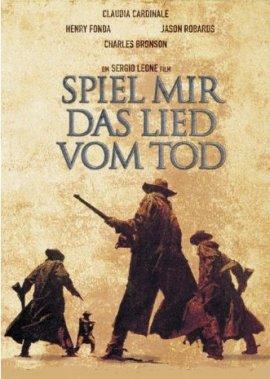 Spiel mir das Lied vom Tod – deutsches Filmplakat – Film-Poster Kino-Plakat deutsch