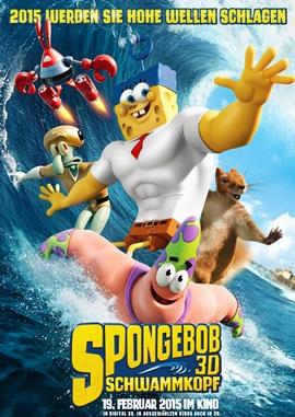 SpongeBob Schwammkopf 2 – deutsches Filmplakat – Film-Poster Kino-Plakat deutsch