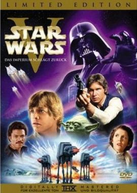 Star Wars – Krieg der Sterne, Episode V: Das Imperium schlägt zurück – Mark Hamill, Harrison Ford, Carrie Fisher, Billy Dee Williams, Alec Guinness, Peter Mayhew – Irvin Kershner – David Prowse, George Lucas – Filme, Kino, DVDs Kinofilm SciFi-Abenteuer – Charts & Bestenlisten