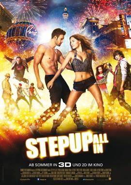 Step Up – All in – deutsches Filmplakat – Film-Poster Kino-Plakat deutsch