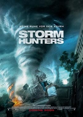 Storm Hunters – deutsches Filmplakat – Film-Poster Kino-Plakat deutsch