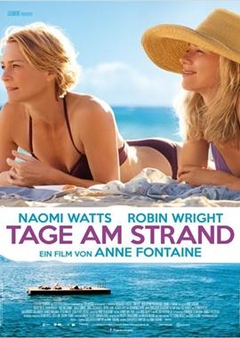 Tage am Strand – deutsches Filmplakat – Film-Poster Kino-Plakat deutsch