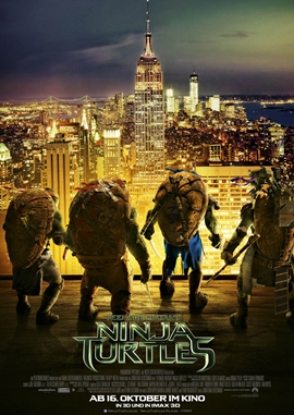 Teenage Mutant Ninja Turtles – deutsches Filmplakat – Film-Poster Kino-Plakat deutsch
